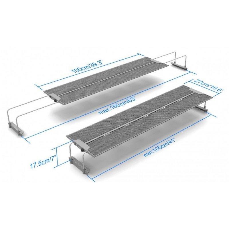 Aquarium Beleuchtung 160 Cm | Led Beleuchtungssystem Maxspect R420r Susswasser 175w 6500k Aquarien